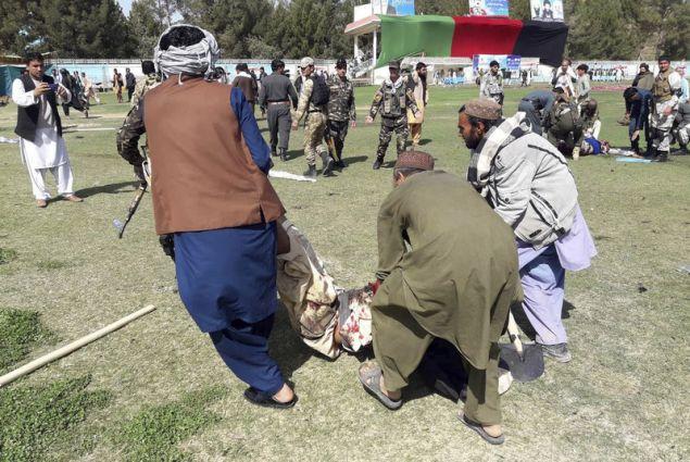 Οι Αρχές θεωρούν ότι οι Ταλιμπάν κρύβονται πίσω από την επίθεση (Φωτογραφία: ΑΡ)