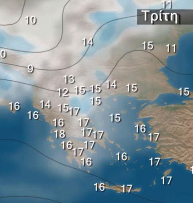 Την Τρίτη θα γίνει αισθητό το γύρισμα του καιρού / Φωτογραφία: YouTube/kolydas.gr