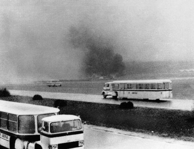 Λίγα λεπτά μετά τη σύγκρουση των πτήσεων της KLM και της Pan AM