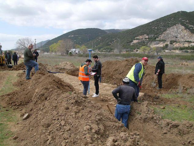 στο πλαίσιο εργασιών διάνοιξης τάφρου για την τοποθέτηση σωλήνων ύδρευσης από συνεργείο του Δήμου Ιάσμου της Π.Ε. Ροδόπης στις 20 Φεβρουαρίου 2019 αποκαλύφθηκαν δύο αρχαία τμήματα της Εγατίας Οδού
