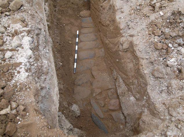Διαπιστώθηκε ότι πρόκειται για τμήμα της αρχαίας Εγνατίας οδού που διατηρείται σε καλή κατάσταση