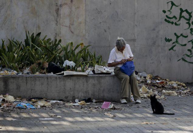 Ένας στους τέσσερις πολίτες της Βενεζουέλας έχει ανάγκη από ανθρωπιστική βοήθεια, λέει η έκθεση του ΟΗΕ (Φωτογραφία: ΑΡ)