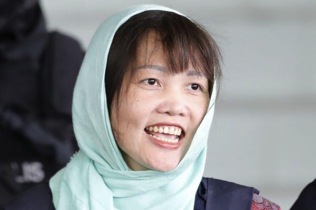 Η Ντοάν Τι Χουόνγκ (AP Photo/Vincent Thian)