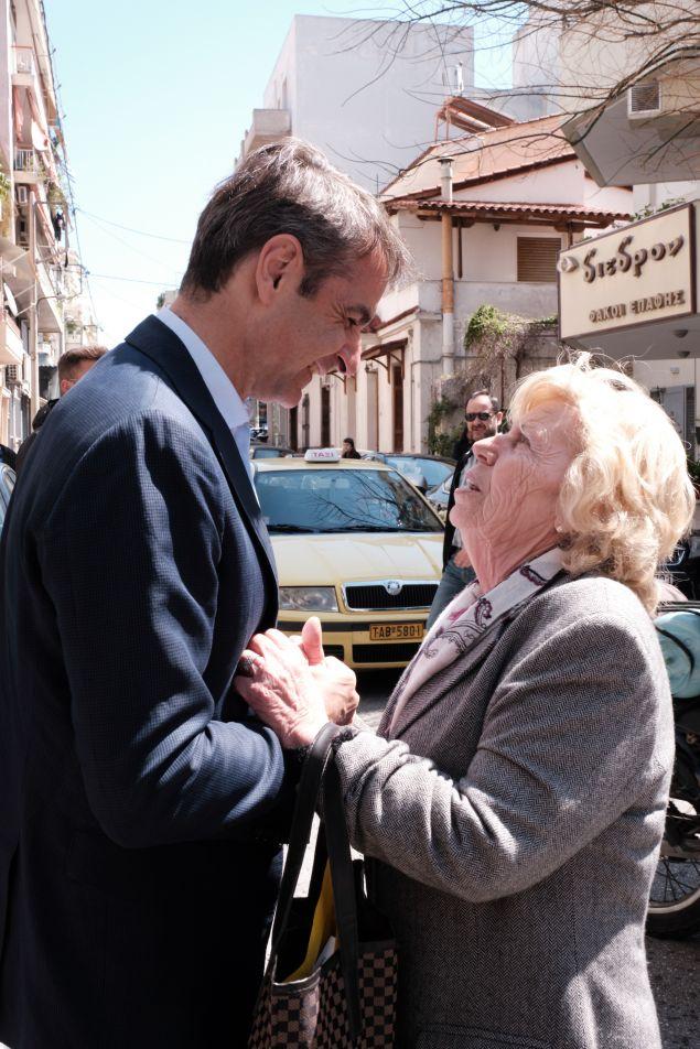 Επίσκεψη του προέδρου της Νέας Δημοκρατίας, Κυριάκου Μητσοτάκη στα Σεπόλια
