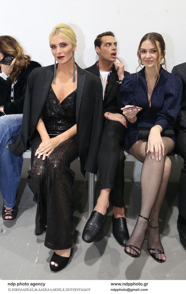 H Κατερίνα Καινουργιου στο fashion show των σχεδιαστών MI-RO