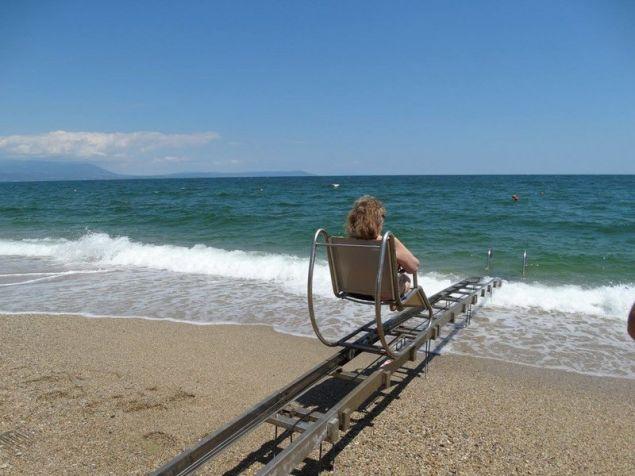 Παραλία της κεντρικής Μακεδονίας / Φωτογραφία: Facebook