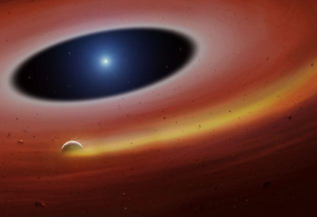 Εξωπλανήτης υπό διάλυση - Πηγή University of Warwick-Mark Garlick