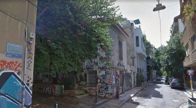 Η συμβολή των οδών Ερεσού και Θεμιστοκλέους, όπου σημειώθηκε το συμβάν / Φωτογραφία: Google Maps