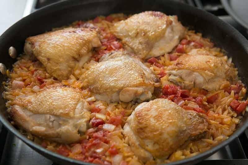 τηγάνι-κοτόπουλο-κριθαράκι-μέθοδος-7