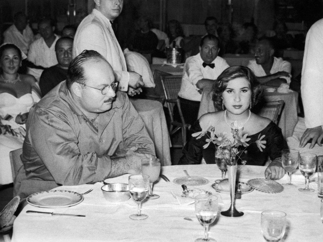 O Βασιλιάς Φαρούκ και η Βασίλισσα Ναριμάν / Φωτογραφία: AP
