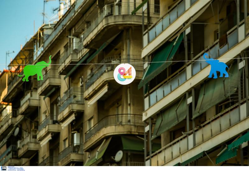 Ελεφαντάκια στους δρόμους της Θεσσαλονίκης ενόψει ΔΕΘ