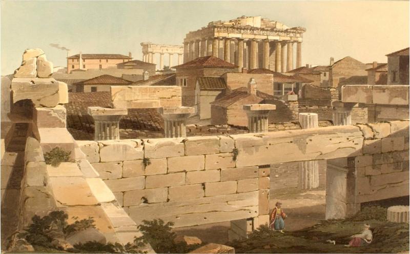 Η Ακρόπολη την εποχή της ελληνικής Επανάστασης