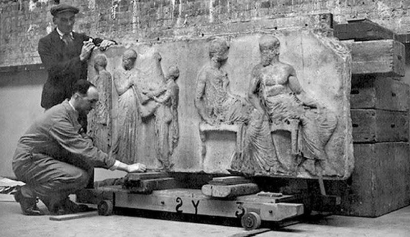 Τα γλυπτά του Παρθενώνα βρίσκονται στο Βρετανικό Μουσείο