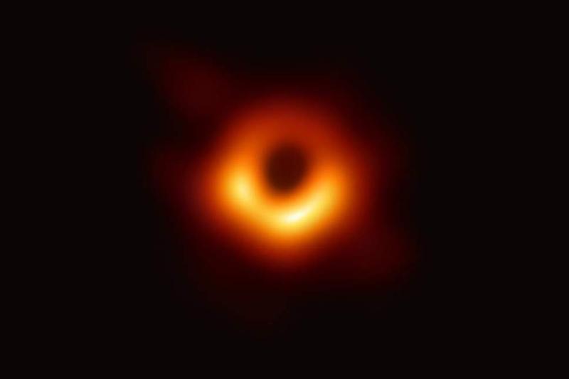 Φωτογραφία μαύρης τρύπας